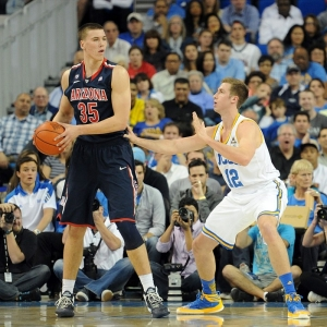 Kaleb Tarczewski of the Arizona Wildcats