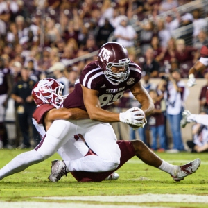 Texas A&M Aggies tight end Kalvin Cline
