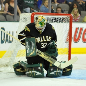 Dallas Stars goalie Kari Lehtonen
