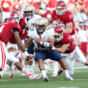 Navy Midshipmen quarterback Keenan Reynolds