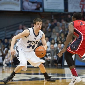 Butler University guard Kellen Dunham