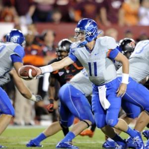 Boise State Broncos quarterback Kellen Moore