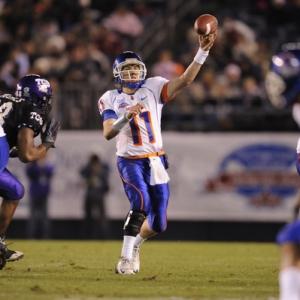 Boise State quarterback Kellen Moore.