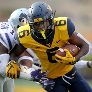 West Virginia Mountaineers running back Kennedy McKoy