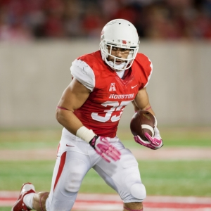 Houston Cougars running back Kenneth Farrow