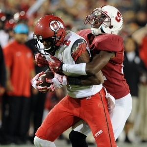 Utah Utes wide receiver Kenneth Scott