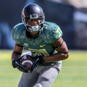 Oregon Ducks running back Kenny Bassett