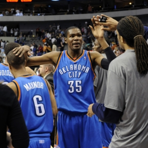 Oklahoma City Thunder forward Kevin Durant