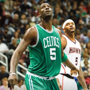 Kevin Garnett of the Boston Celtics