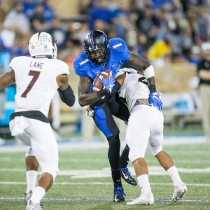 Tulsa Golden Hurricane wide receiver Keyarris Garrett