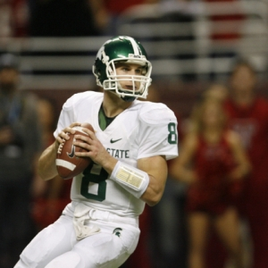 Michigan State University quarterback Kirk Cousins
