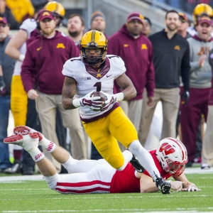 Minnesota Golden Gophers wide receiver KJ Maye