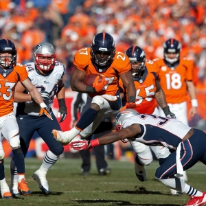 Denver Broncos RB Knowshon Moreno