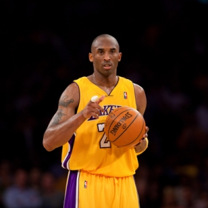 Guard Kobe Bryant of the Los Angeles Lakers