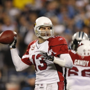 Arizona Cardinals quarterback Kurt Warner.