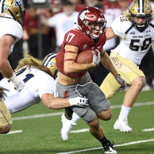 Washington State Cougars wide receiver Kyle Sweet