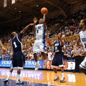 Duke guard Kyrie Irving