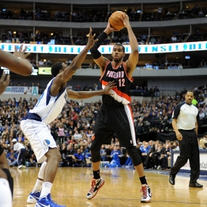 Portland Trail Blazers power forward LaMarcus Aldridge