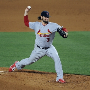 St. Louis Cardinals pitcher Lance Lynn