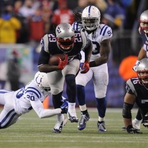 New England Patriots running back LeGarrette Blount