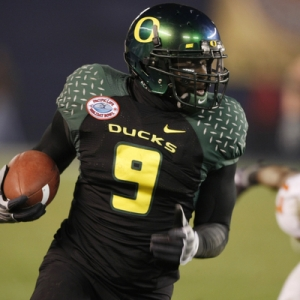 Oregon running back LeGarrette Blount.