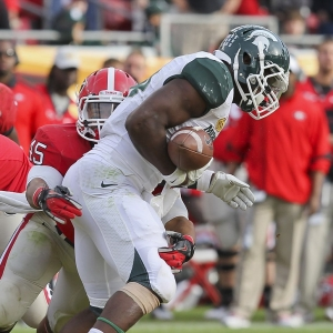 Spartans running back Le'Veon Bell