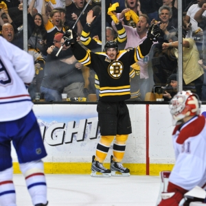 Boston Bruins left wing Loui Eriksson
