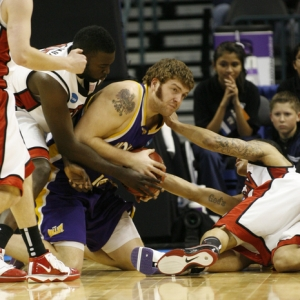 Northern Iowa forward Lucas O'Rear