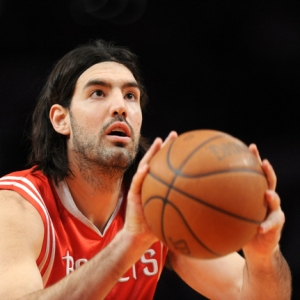 Luis Scola of the Houston Rockets.