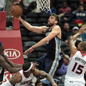 Memphis Grizzlies center Marc Gasol