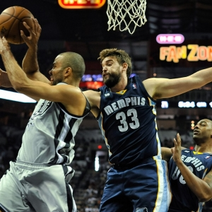 Memphis center Marc Gasol