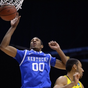 Kentucky Wildcats forward Marcus Lee