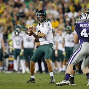 Oregon Ducks quarterback Marcus Mariota