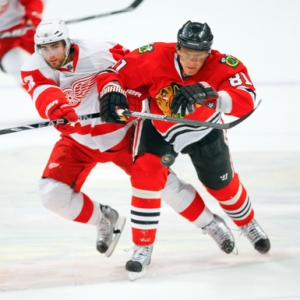 Chicago Blackhawks right wing Marian Hossa