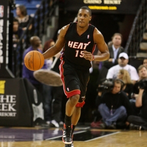 Mario Chalmers of the Miami Heat