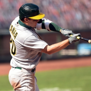mark canha oakland athletics