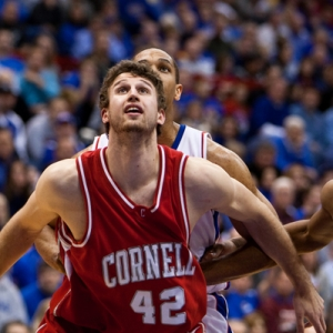 Cornell Big Red forward Mark Coury