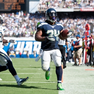Seattle Seahawks RB Marshawn Lynch