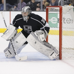 Los Angeles Kings goalie Martin Jones