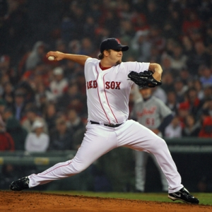 Boston Red Sox relief pitcher Matt Albers