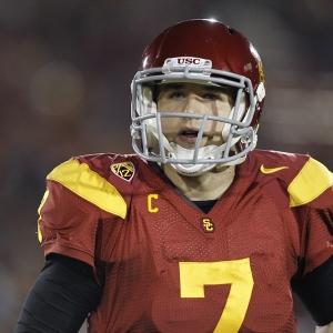 USC Trojans quarterback Matt Barkley