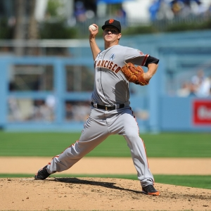 Matt Cain of the San Francisco Giants