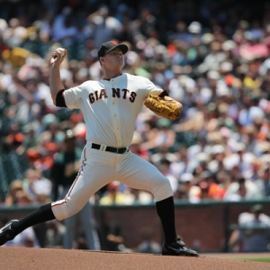 San Francisco picther Matt Cain.