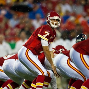 Kansas City Chiefs quarterback Matt Cassel.