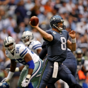 Seattle Seahawks Quarterback Matt Hasselbeck.