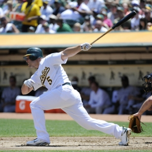 Matt Holliday of the Oakland A's.