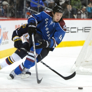 Colorado Avalanche defenseman Matt Hunwick