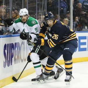 Buffalo Sabres left wing Matt Moulson