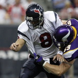Houston Texans quarterback Matt Schaub.