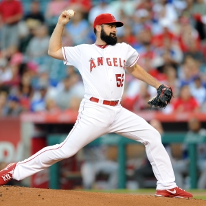 Matt Shoemaker of the LA Angels